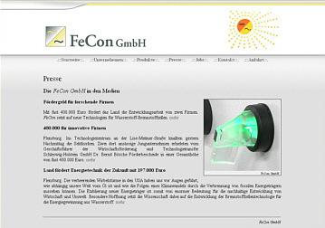FeCon GmbH - Wechselrichter und Frequenzumrichter